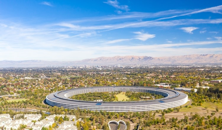 Apple Park oceněna na 4,17 mld USD
